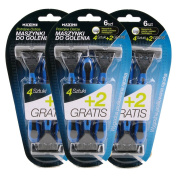 Comfort Disposable Shaving Razors 3 Blade Package