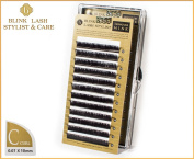 Blink Lash Stylist eyelashes for eyelash extension C curl- thickness- 0,07 mm , length- 10 mm.