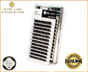 BL Lashes Laser Mink eyelashes for eyelash extension D curl- thickness- 0,2 mm , length- 14 mm. NEW DESIGN from Blink Lash Stylist !!!
