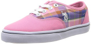 US Polo Assn Gall Madras Fux Unisex Children's Sneaker Baby pink Size: