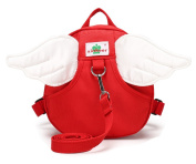 Fanci Nursery Child Backpack Angel Wings School Bag for Kindergarten Kids