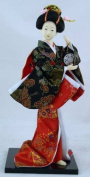 """12"""" Japanese GEISHA Oriental Doll ZS1017-12"""