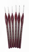 Artmaster Artists & Modelmakers Fine Detail Brush Set of 6