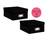Pioneer Photo Albums B-1BLK Photo Storage Box