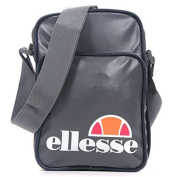 Ellesse Tanaro PU Leather Side Bag Navy