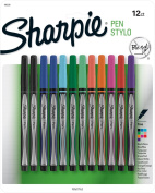 Sanford Ink Sharpie Pens Stylo Fine 1-Assorted Colours