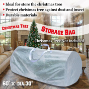 Strong Camel Large Artificial Christmas Tree Storage Bag WHITE For Up to 2.7m tree