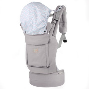 GAGAKU Ergonomic Back and Front Baby Carrier with Pockets - 3 Carrying Positions