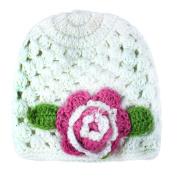 niceeshop (TM) Baby Girls Flower Handmade Knit Hat