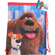 Secret Life of Pets Drawstring School Sports Gym & Swimming Bag