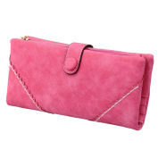 Per Elegant Lady Soft Wallet Long Style Pouch Purse for Cash Card
