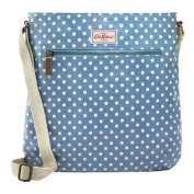 Cath Kidston cross body bag oilcloth little spot denim