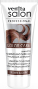 Venita Salon Professional Colour Care Shampoo for natural Brown, natural Dark and Dark Coloured Hair. Gradual Darkening - Brown & Dark