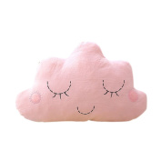 Drasawee Lovely Soft Cloud Toy Plush Stuffed Home Decoration Sweet Gift For Kids Pink