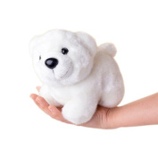 Lazada Stuffed White Polar Bear Animal Plush Kids Toy Baby Dolls 18cm