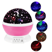Children Lights, VSOAIR Starry Night Light Lamp 3 Modes Star Projector Light