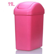 Fashion Kaogai Living Room Rectangle Home Covered Trash Cans Thicker