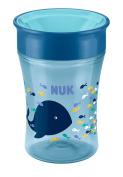 NUK Magic 360° 250ml Cup 8mths+ Blue Whale