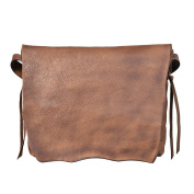 Women's Shoulder Bag Bvane Women's Full Grain Leather Cross Body Handbag 14223