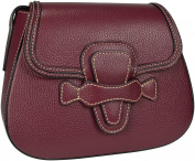 Shirin Sehan Women's Marcia Shoulder Bag pink raspberry