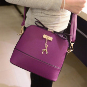 Single-shoulder Bag, Xjp Vintage Casual Women Messenger Bags Shell Bag with PU Leather