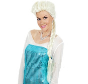 Royal-First Frozen Elsa Wig High Quality Synthetic Light Blonde Cosplay Wig for Women by Royal-first