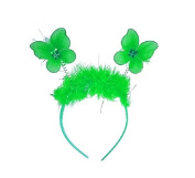 Cute Fluffy Tinsel Butterfly Deeley Bopper Headband Hair Band Small Girls