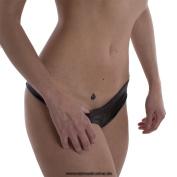 20 Queen of Spades mini Tattoo - QoS black tattoo for Hotwife - BBC lovers