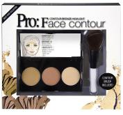 Pino Silvestre Pro Face Contour Colour Powder Palette 30 g