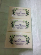 PAPOUTSANIS TRADITIONAL GREEK WHITE VEGETAL SOAP OLIVE OIL 6 BAR 125gr