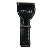 Artamis Black Leather Safety Razor Travel Case