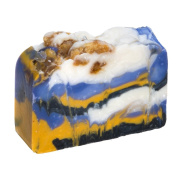 White Tea And Ginger Soap Bar - Organic Herbal Bar With Therapeutic Essential Oils. Moisturising Body Soap For Skin And Face. With Shea Butter, Coconut Oil And Glycerin 120ml Soap Bar