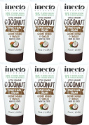 SIX PACKS of Inecto Coconut Hand & Nail Cream 75ml