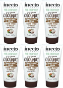 SIX PACKS of Inecto Coconut Hand & Nail Cream 75ml