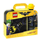 LEGO Batman Lunch Set, Lunch Box & Drinking Bottle, Black, 2-Piece