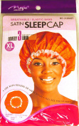 [Magic Collection] 50cm Extra Large Elastic Band Satin Sleeping Cap - Red
