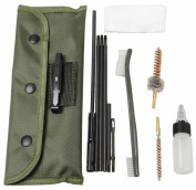 MAYMOC Rifle Gun Cleaning Kit Set Cleaning Rod Nylon Cleaner Clean Accessories Tools Brush