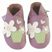 Daisy Roots Flower Pot Baby Shoes