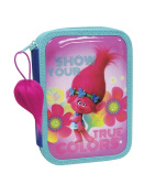 Trolls True Colours Double Pencil Case