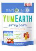 YumEarth Natural Gummy Bears, 10 Count, net wt. 210ml