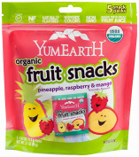YumEarth Organic Tropical Fruit Snacks, Raspberry/Pineapple/Mango ( Packaging May Vary )