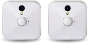 Blink Home Security Camera System for Your Smartphone with Motion Detection, HD Video, 2 Year Battery and Cloud Storage Included - 2 Camera Kit