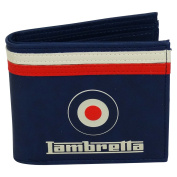 Lambretta Wallet Coin Purse Card ID Photos Holder blue