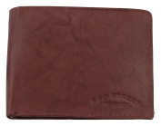 M99 Men Small Leather Goods (992 °C) Chianti Rust Brown Leather Wallet, Genuine Leather Wallet