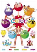"Kids Learning Colour Wheel Artwork Room Decor Wall Sticker Decal15""W X 60cm H (1 piece)"