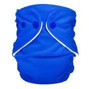 FuzziBunz Adjustable Nappy, Regatta blue, 4.5-18kg