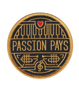 Passion Pays Embroidered Sew or Iron-on Patch
