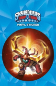 Skylanders Trap Team Headrush Vinyl Sticker