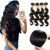 Charming Peruvian Body Wave Virgin Hair 4 Bundles 100% Unprocessed Virgin Peruvian 400g Remy Human Hair Body Wave Natural Colour
