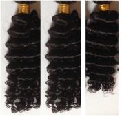 3 Bundles 60cm , 60cm , 50cm Brazilian Braiding VIRGIN Remy Hair Sales